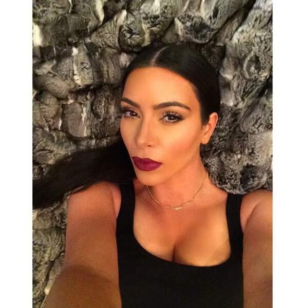 Evidemment, Kim Kardashian a fait le déplacement !