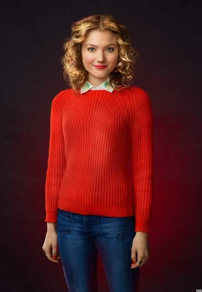 Skyler Samuels (Grace), déjà vue chez Ryan Murphy dans American Horror Story : Freak Show