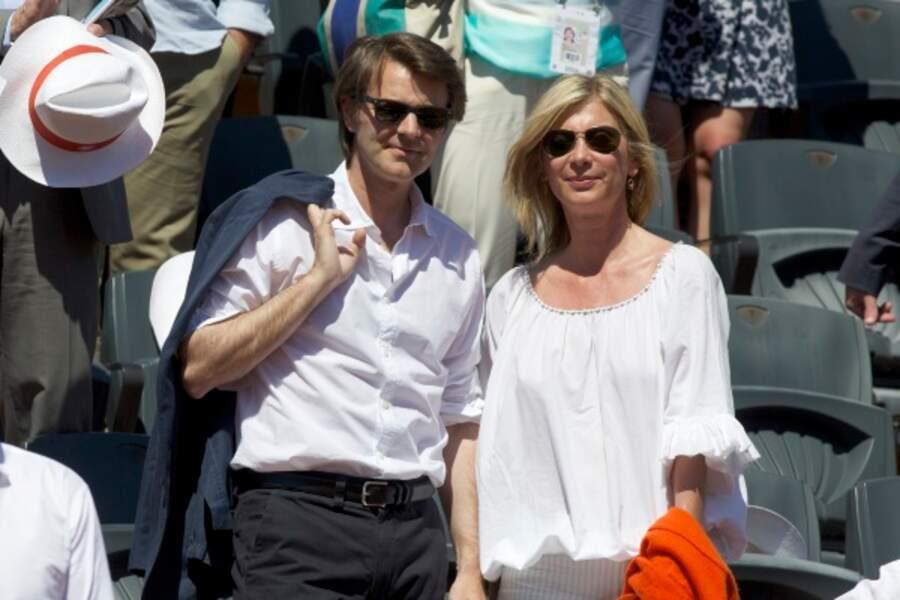 Michèle Laroque et son compagnon François Baroin.