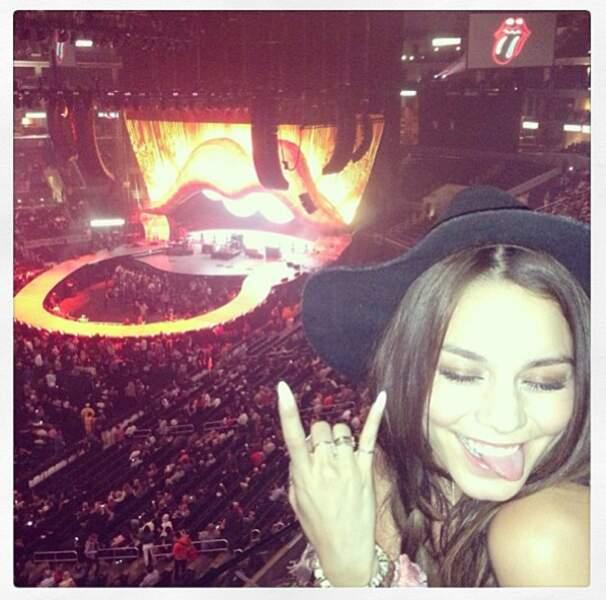 Vanessa rocks ! Au concert des Rolling Stones !