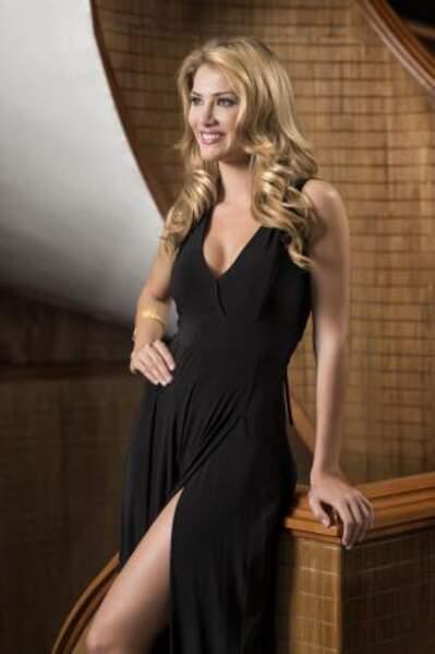 Cette jolie blonde est Mireia Lalaguna Royo, Miss Espagne