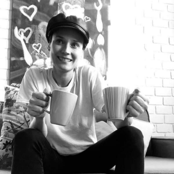 Diane Kruger est sympa : elle a préparé le café à déguster devant ce super diaporama spécial Instagram.