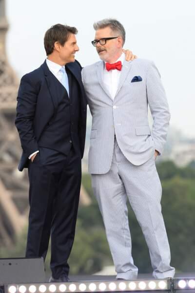 Christopher McQuarrie et Tom Cruise