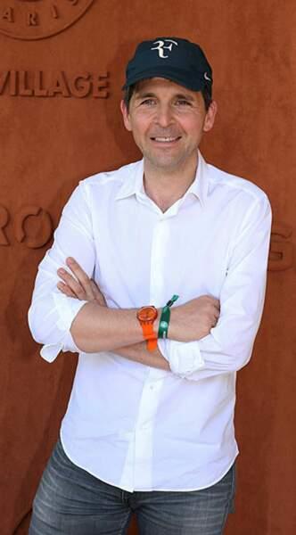 Federer peut être rassuré, son fan numéro 1 Thomas Sotto est là pour le soutenir