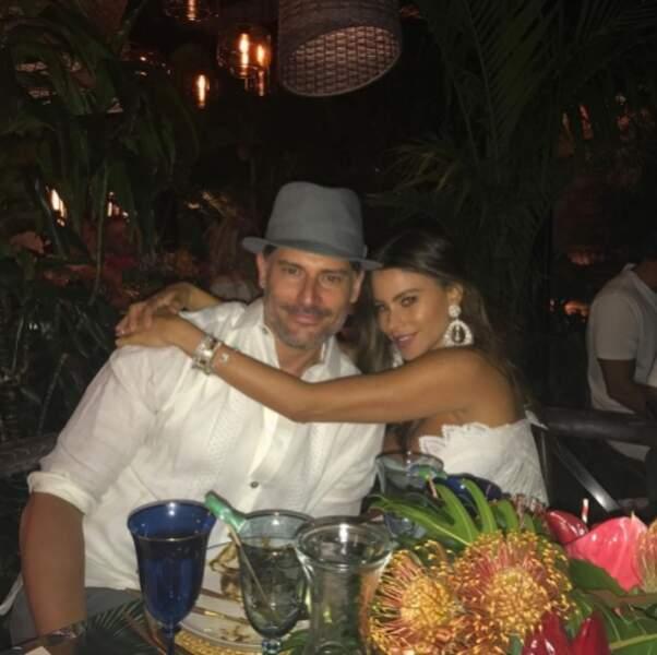 C'est toujours l'amour fou entre Sofia Vergara et Joe Manganiello.