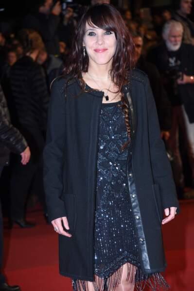 Zaz sur le tapis rouge des NRJ Music Awards