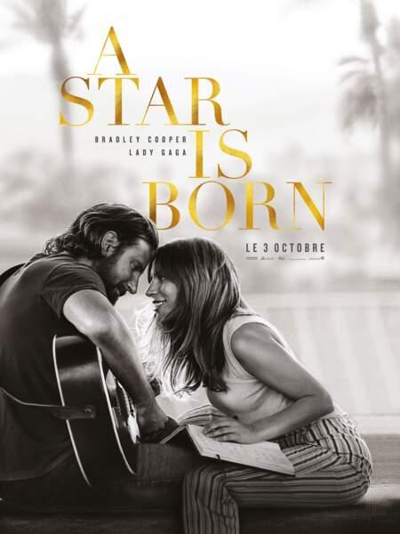 L'affiche du film A Star is Born