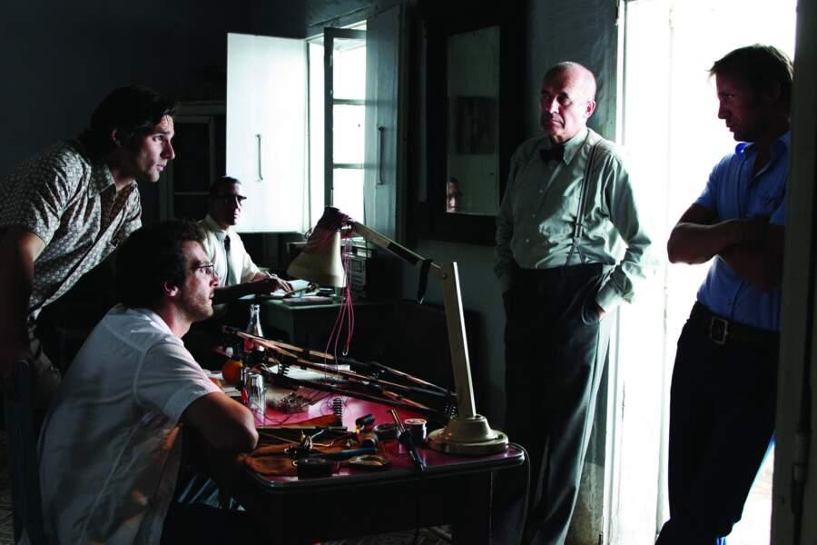 En 2005, Daniel Craig et Mathieu Kassovitz se donnent la réplique dans le thriller politique Munich