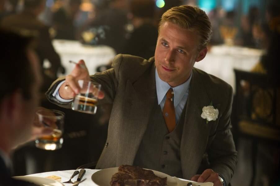 Mais l'actu est vraiment rythmée par les apparitions de Ryan Gosling qui revient début 2013 avec Gangster Squad