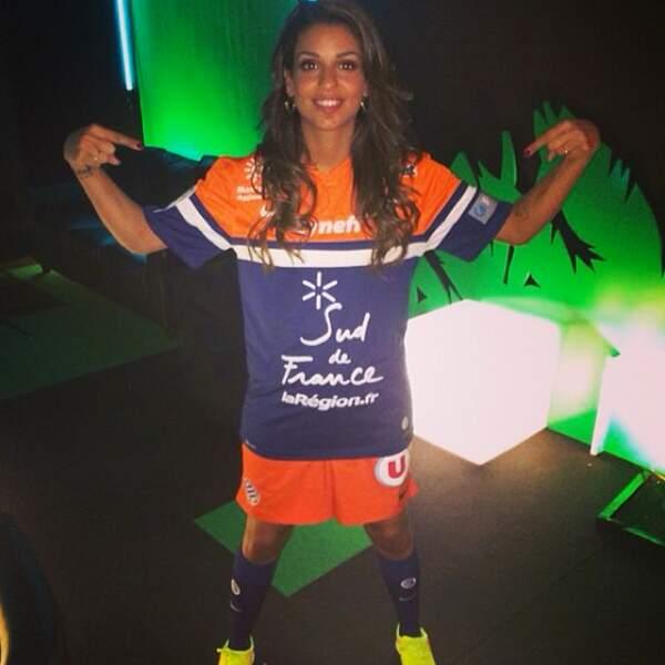 Tal habillée en footballeuse pour Les Enfoirés 2014