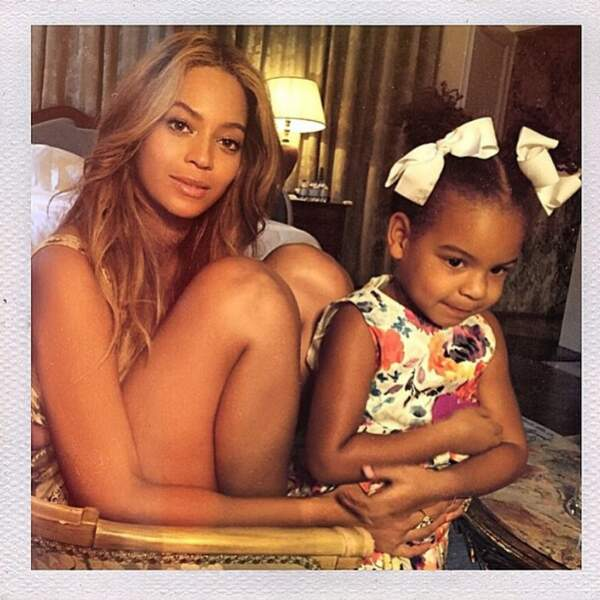 Beyoncé n'a pas de chien mais une jolie petite fille.