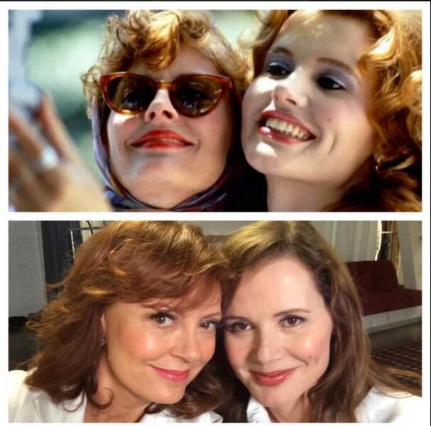 Fans de Thelma et Louise ? Voici les deux héroïnes, 23 ans plus tard !