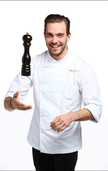 Voici Alexandre Moormann, 30 ans, chef du restaurant La villa Lorraine en Meurthe-et-Moselle