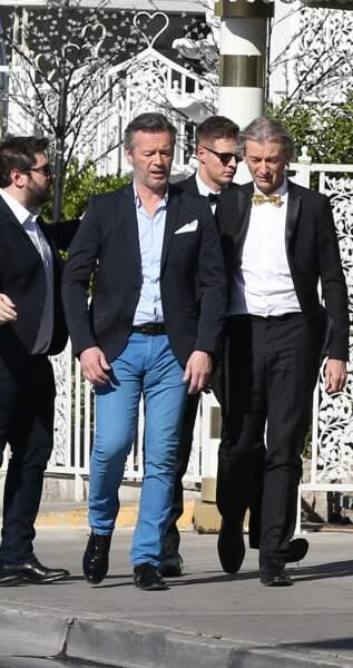Ils ne sont pas beaux ces messieurs Maire et Verdez dans leur costume ?
