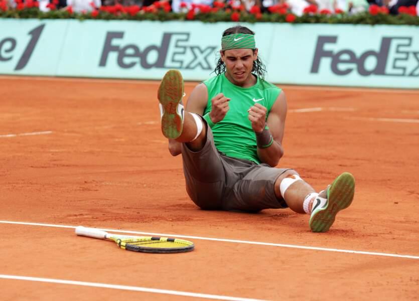 2008 : Nadal dégomme (encore) le Suisse