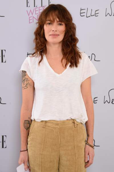 Lena Headey (Games of Thrones) casse son look sage avec un beau tatoo