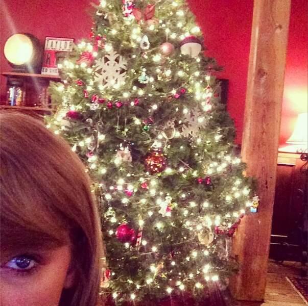 On ne peut pas rivaliser avec le sapin de Taylor Swift !