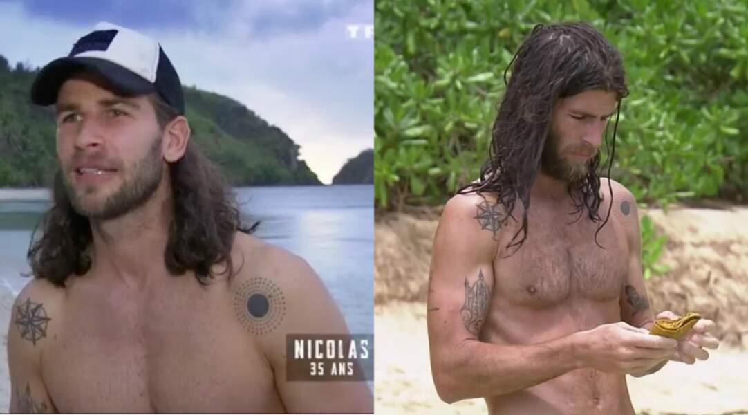 Nicolas a particulièrement souffert de la faim, - 15 kilos pour l'aventurier