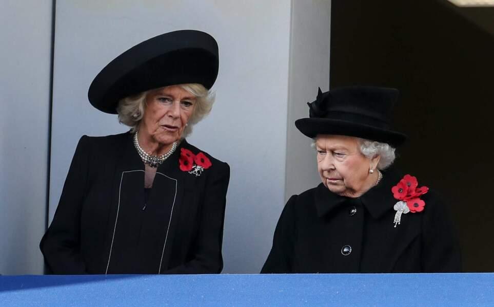 L'entente semble également de mise entre la reine d''Angleterre et la duchesse de Cornouailles