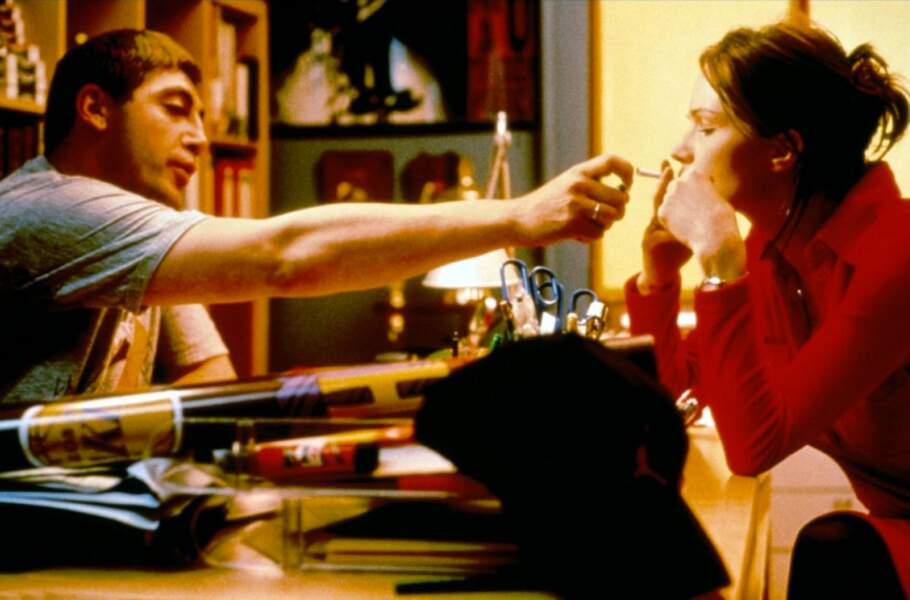 En chair et en os en 1997 réunit l'acteur Javier Bardem et Francesca Néri
