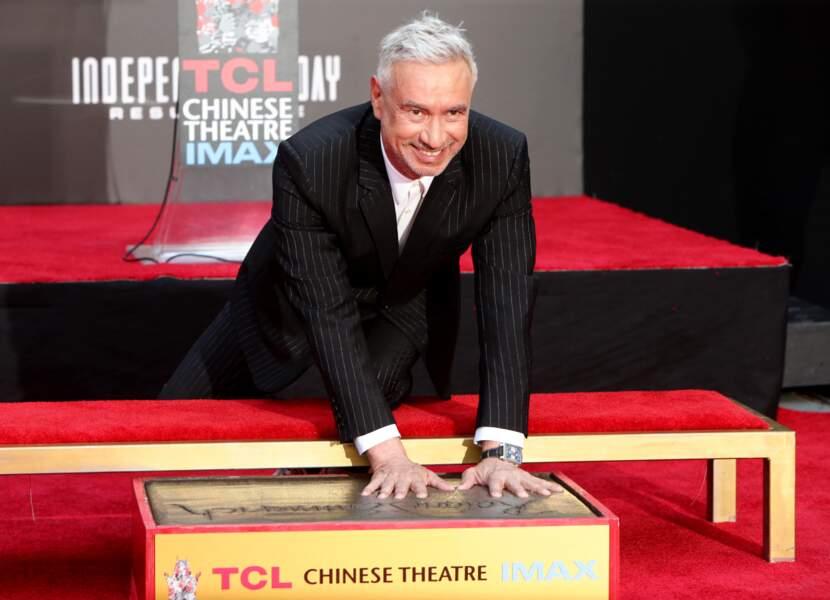 Roland Emmerich a même laissé ses empreintes au Chinese Theatre
