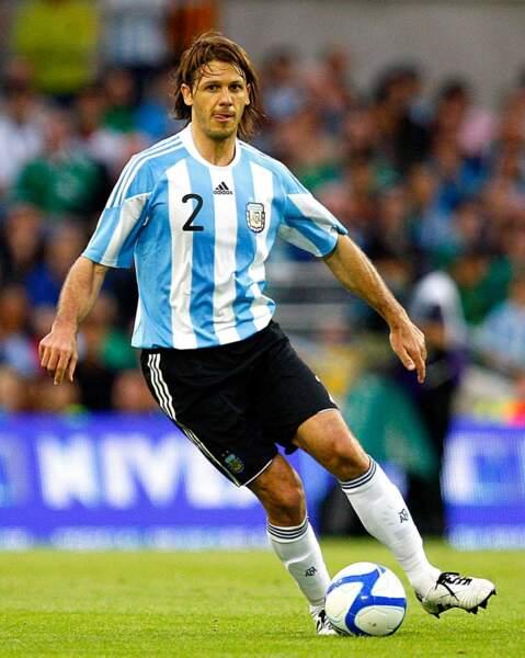 Et elle est la compagne du défenseur argentin de Manchester City, Martin Demichelis