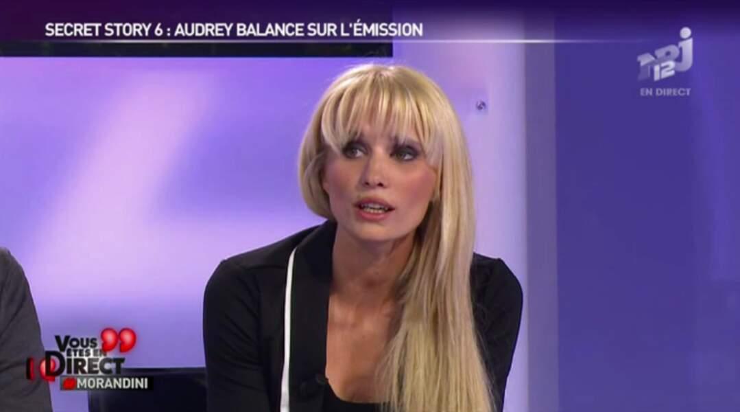 Audrey Mazens (Saison 6) est animatrice télé aux Etats-Unis