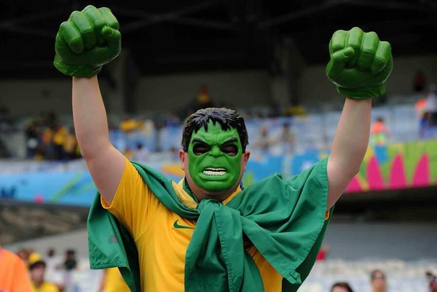 Durant le match Belgique-Algérie, Hulk était à fond !
