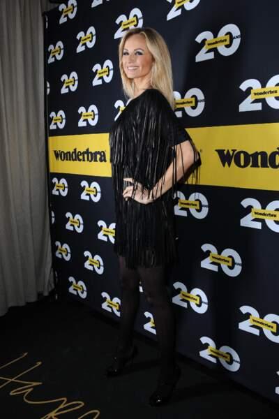 Adriana Karembeu lors de la soirée anniversaire des 20 ans de Wonderbra