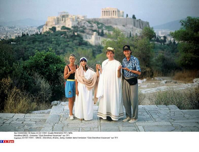 En 1991, le Club Do s'était envolé pour la Grèce... et avait même passé les costumes !