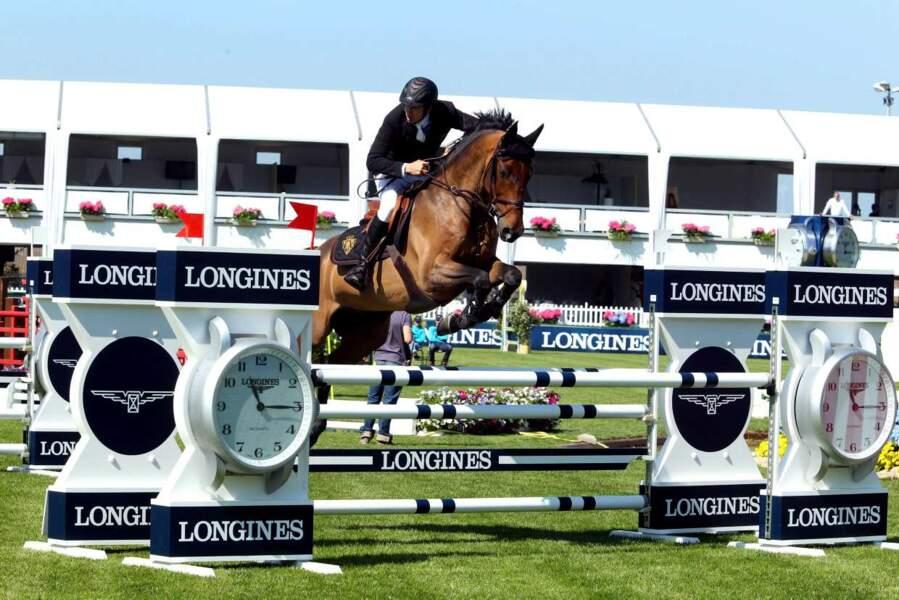Le cheval, ça le gagne, Guillaume Canet !