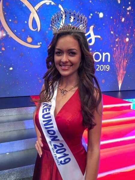 Morgane Lebon représentera la Réunion !