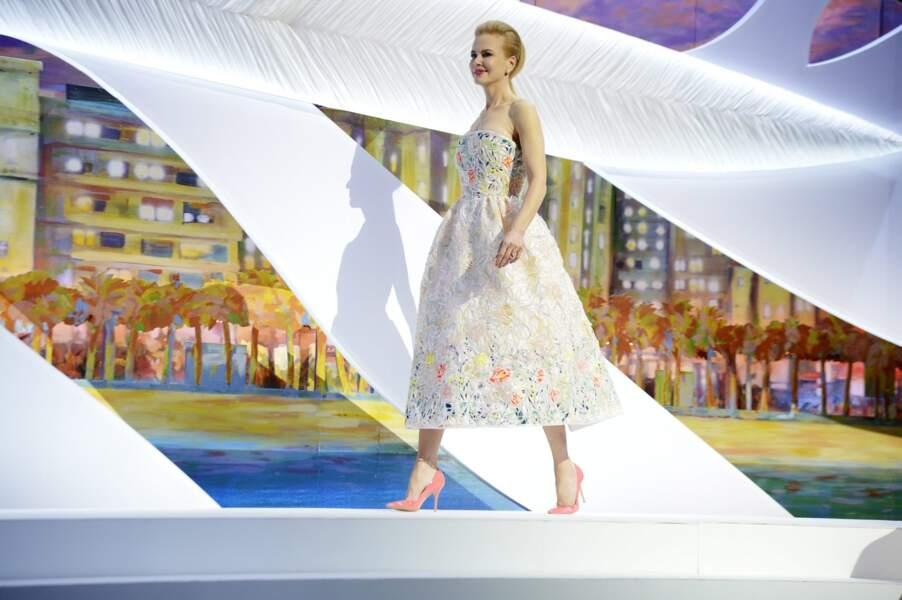 Décidément, Nicole Kidman est vraiment pétillante dans cette tenue