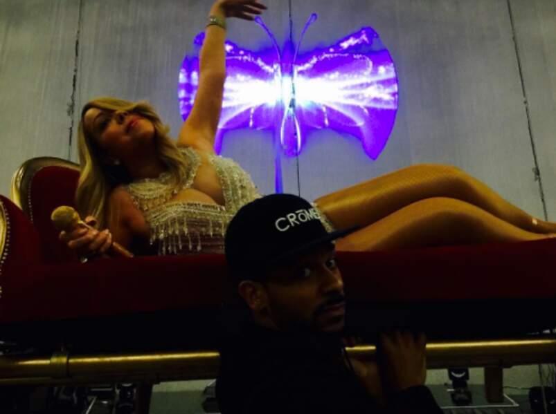 Mariah Carey adooooore les canapés !