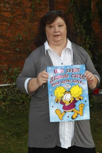 Violette, sa maman, avait prévu une jolie carte sur laquelle les amis de Loana ont écrit des petits mots