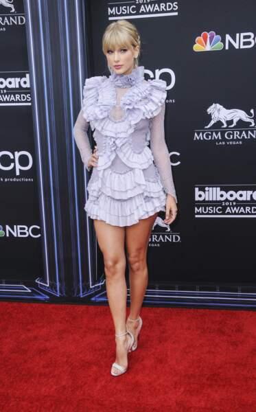 Taylor Swift, sur tapis rouge