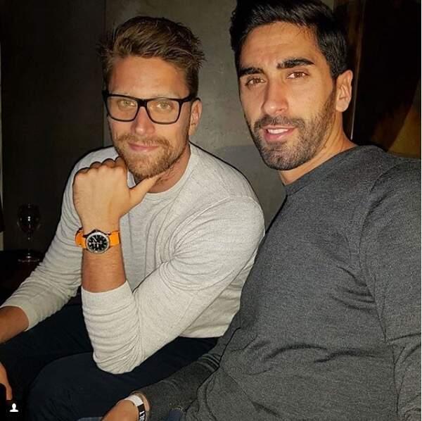 Point de chichi pour ces messieurs, à l'image des nageurs italiens Luca Dotto et Filippo Magnini