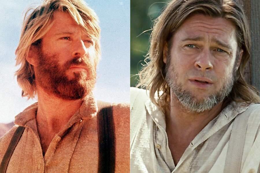 Barbus : Robert Redford  dans Jeremiah Johnson. Brad Pitt  dans 12 years a slave).