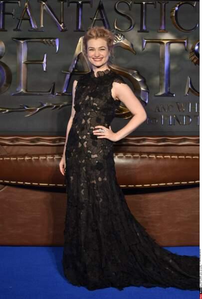 Alison Sudol a fait sensation avec sa robe noire…