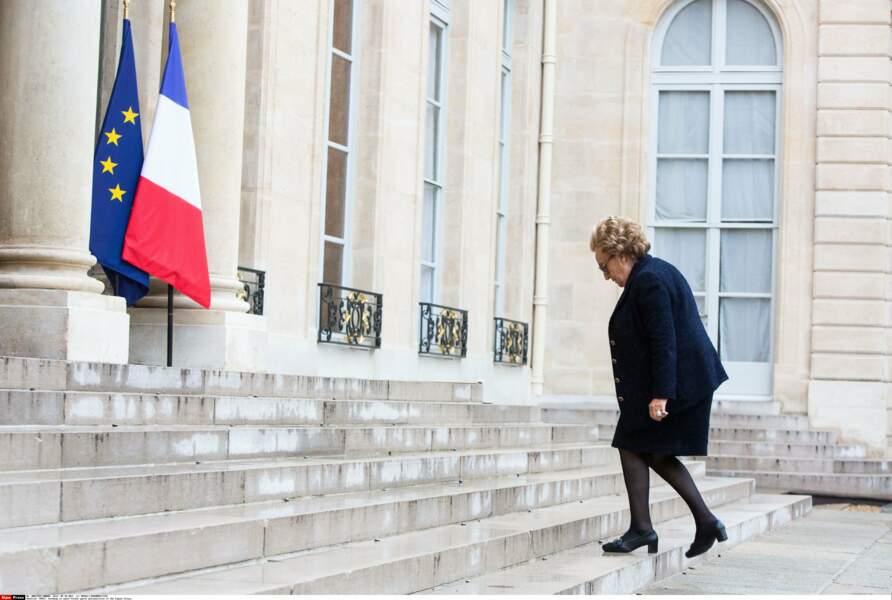 De 1995 à 2007, la patronne de l'Élysée c'est elle !