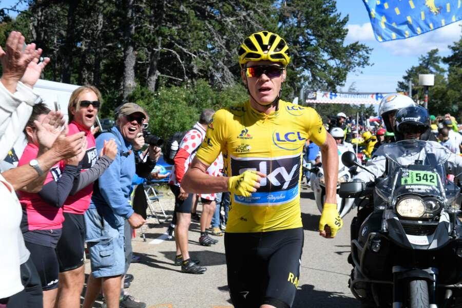 Chris Froome fait son footing, tranquillou