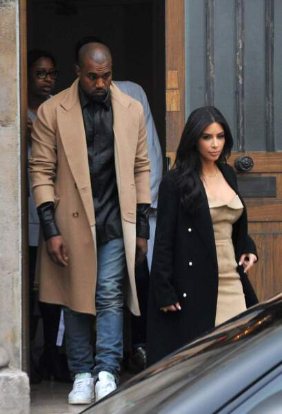 Kim est aujourd'hui mariée à Kanye West