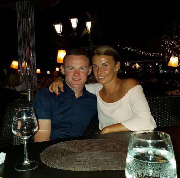 Wayne Rooney passe également du temps en amoureux