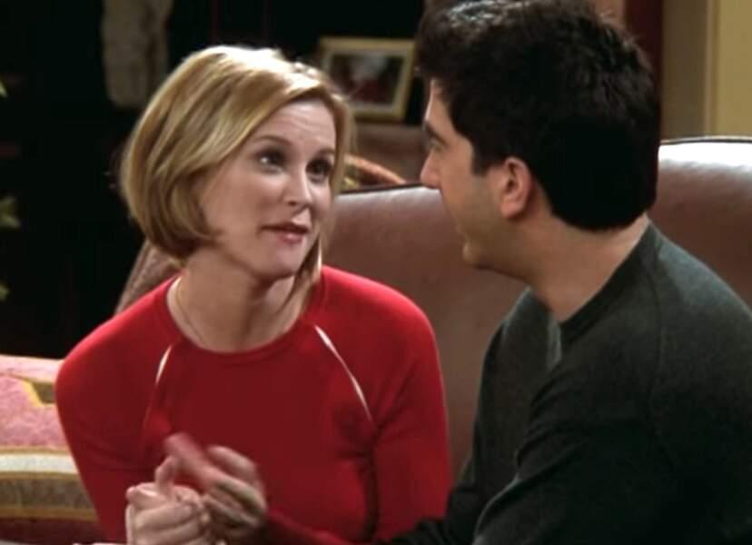 Bonnie Somerville interprétait Mona, la petite amie toujours oubliée de Ross.