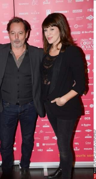 Christophe Alévêque et Serena Reinaldi feront la connaissance de leur premier enfant. MàJ : c'était en mars