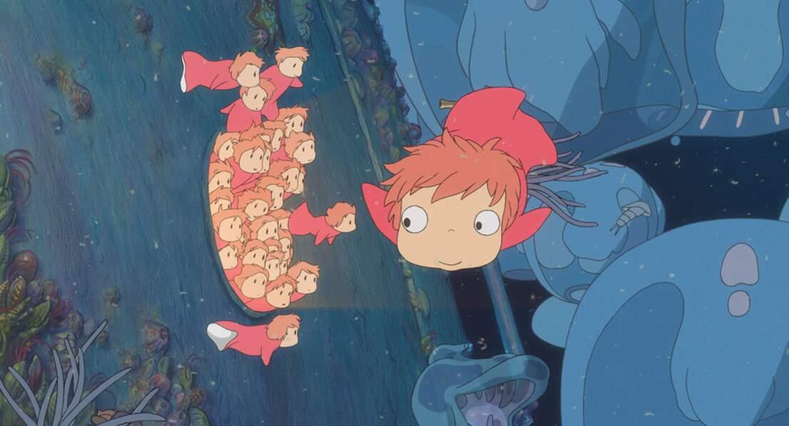 ... mais dans l'eau. Avec l'histoire d'une petite princesse poisson qui rêve d'être humaine