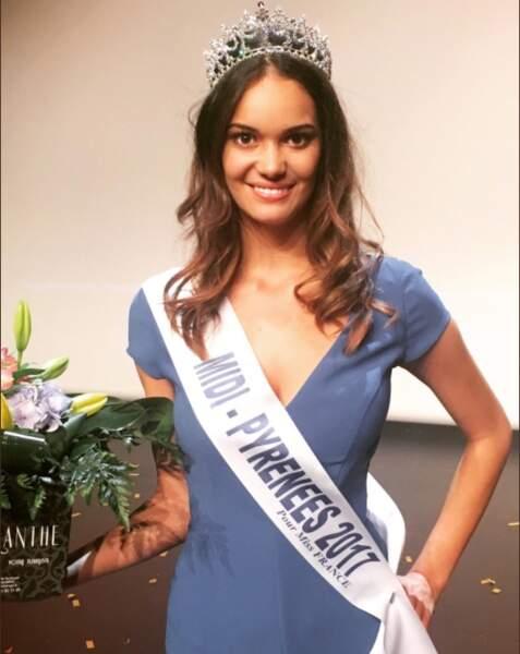 Anais Dufillo (19 ans) a été élue Miss Miss Midi-Pyrénées