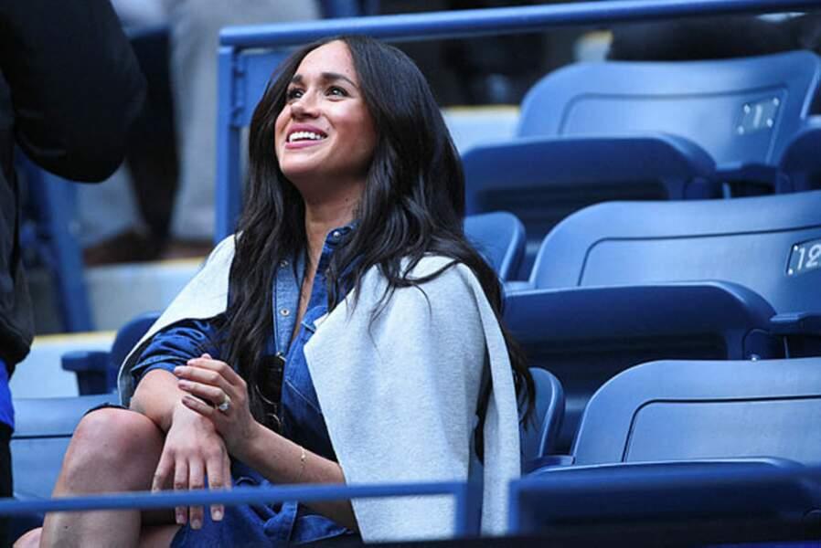 Meghan Markle n'aurait manqué le match de sa copine Serena pour rien au monde