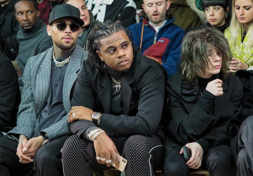 Chris Brown, Gunna et Matt Ox ont assisté au défilé de l'audacieux créateur japonais Yohji Yamamoto