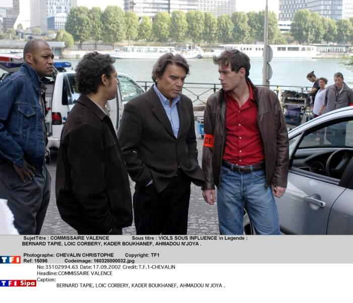 """Il incarne également """"Commissaire Valence"""", série policière diffusée sur TF1"""
